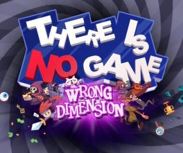 Jeu There Is No Game : Wrong Dimension sur Nintendo Switch : artwork du jeu
