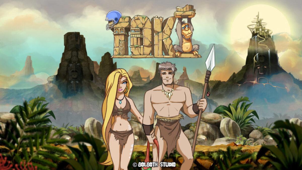 Jeu Toki sur Ninetendo Switch : artwork du jeu