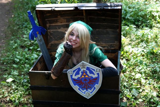 Link de The Legend of Zelda (RyuuuLavitz)