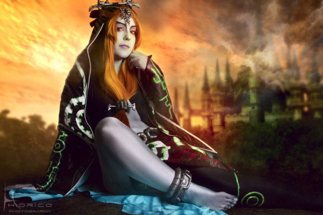 Midona de The Legend of Zelda (Yurai-cosplay)