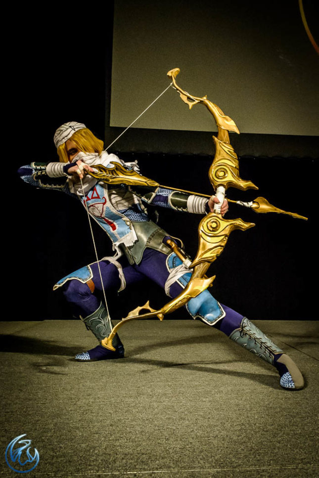 Sheik de The Legend of Zelda (VFire)