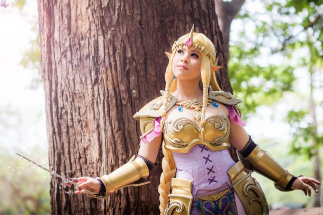 La princesse Zelda de The Legend of Zelda (LayzeMichelle)