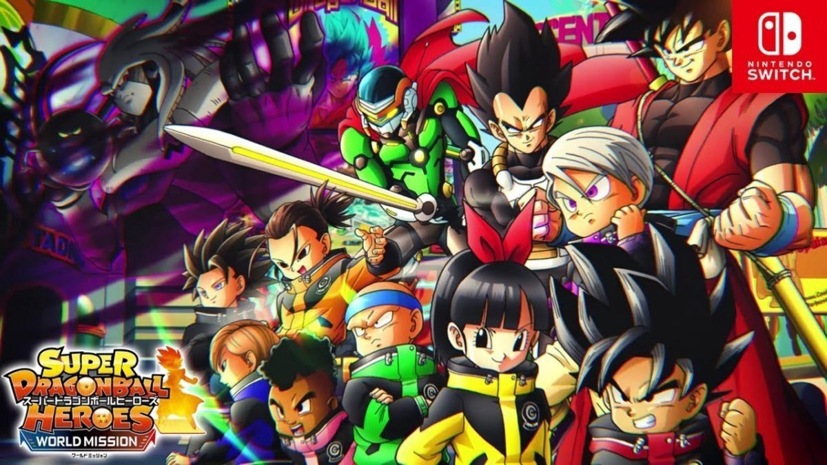 Un trailer de lancement japonais pour Super Dragon Ball Heroes: World Mission