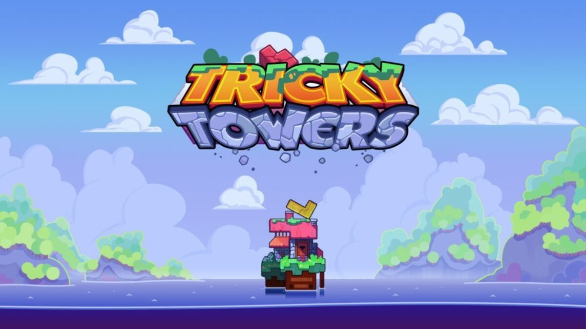 Jeu Tricky Towers sur Nintendo Switch : artwork du jeu