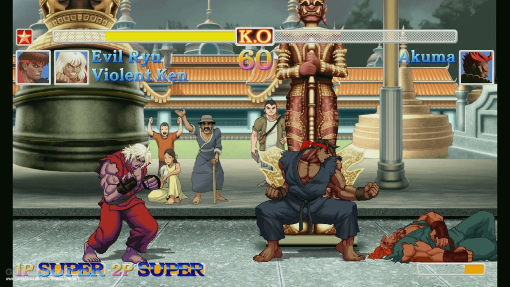 Ultra Street Fighter II : The Final Challengers : mode coopération