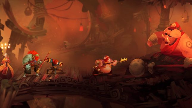 Jeu Unruly Heroes sur Nintendo Switch : à l'assaut du roi cochon