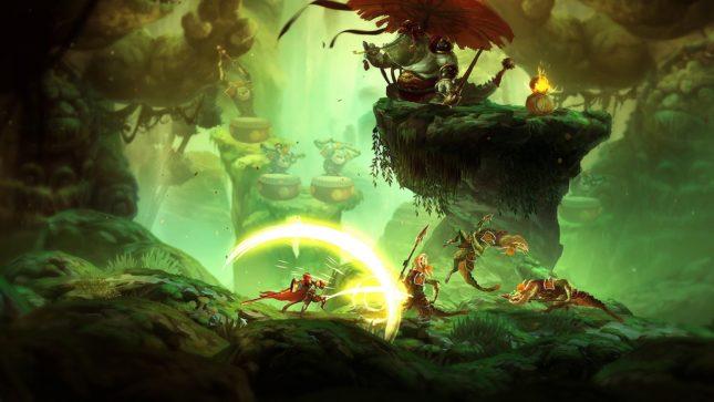 Jeu Unruly Heroes sur Nintendo Switch : battez les hordes de crocodiles