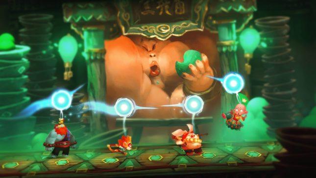 Jeu Unruly Heroes sur Nintendo Switch : à l'attaque !