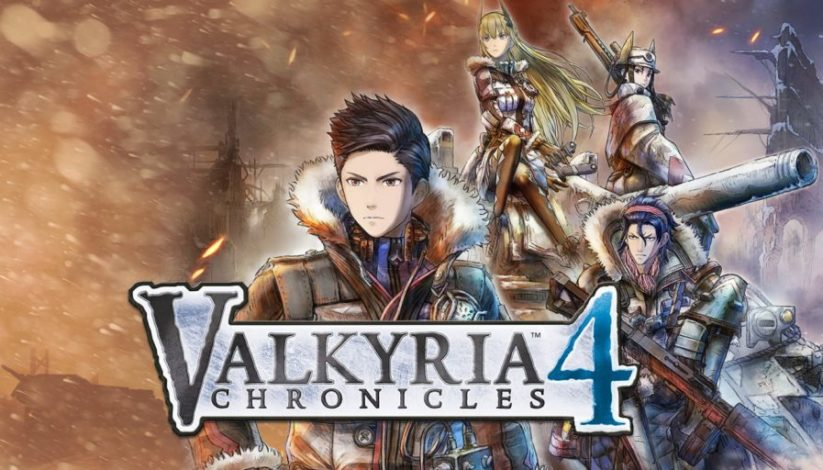 Jeu Valkyria Chronicles 4 sur Nintendo Switch : artwork du jeu
