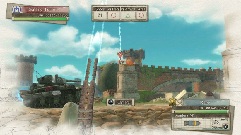 Jeu Valkyria Chronicles 4 sur Nintendo Switch : un joli tir de mortier