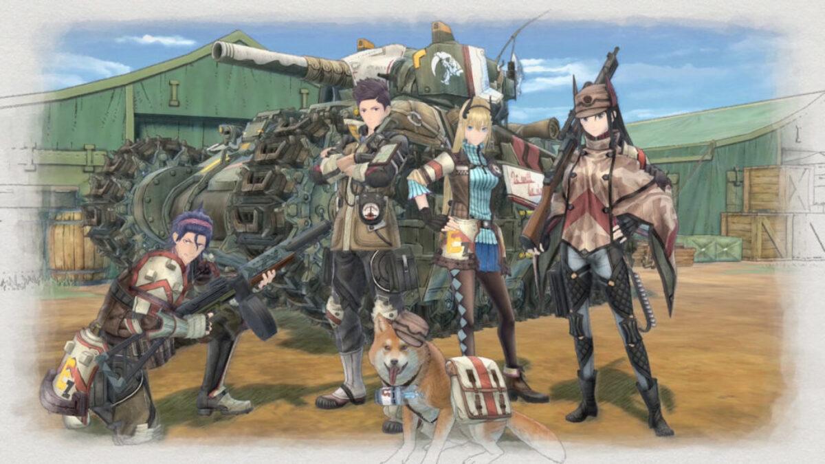 Jeu Valkyria Chronicles 4 sur Nintendo Switch : l'Escadron E