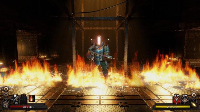 Jeu Vaporum sur Nintendo Switch : soyez tout feu tout flammes