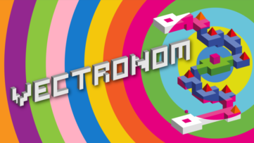 Jeu Vectronom sur Nintendo Switch : artwork du jeu
