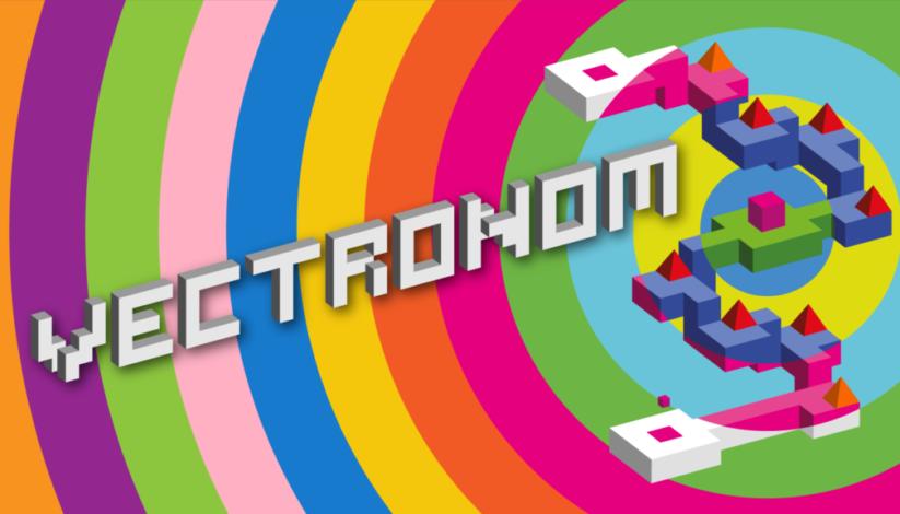 Jeu Vectronom sur Nintendo Switch : artwork du jeu