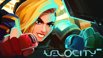 Jeu Velocity 2X sur Nintendo Switch : artwork du jeu