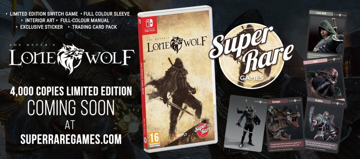 Super Rare Games poussera Joe Dever's Lone Wolf vers la lumière avec une édition physique en Avril
