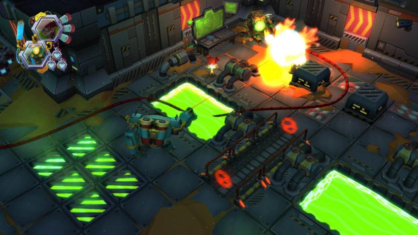 Jeu Vesta sur Nintendo Switch : screenshot du jeu