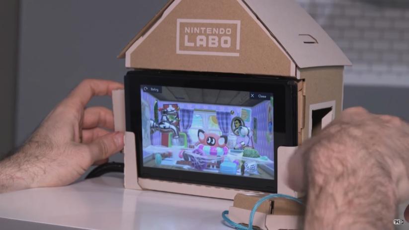 Vidéo du Toy-Con Maison du Multi kit Nintendo Labo