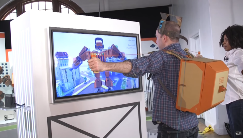 Vidéo du Toy-Con Robot Nintendo Labo