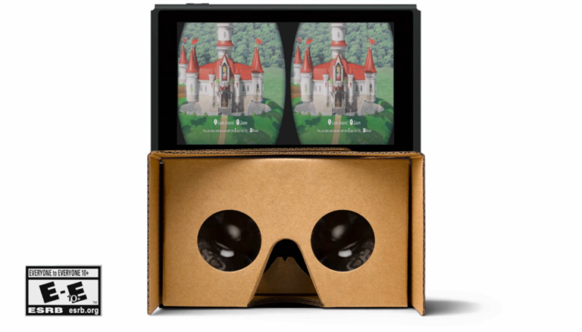 Kit VR Nintendo Labo pour la Nintendo Switch par Captain Hishiro