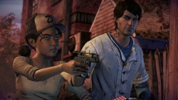 Jeu The Walking Dead sur Nintendo Switch : Clementine sait se défendre