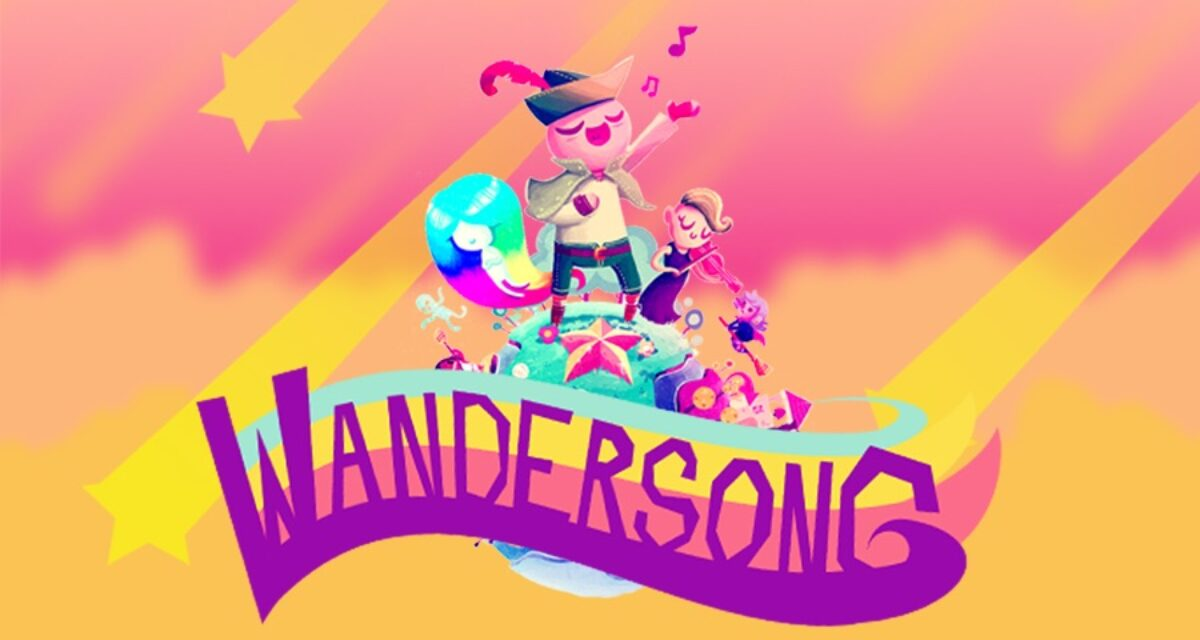 Jeu Wandersong sur Nintendo Switch : artwork du jeu