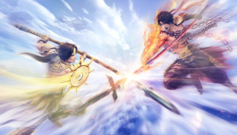 Jeu Warriors Orochi 4 sur Nintendo Switch : artwork du jeu