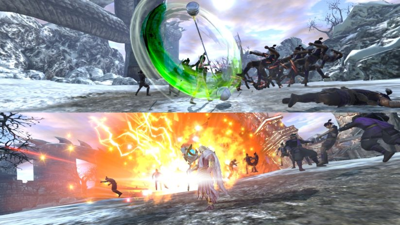 Jeu Warriors Orochi 4 sur Nintendo Switch : multijoueur en écran partagé