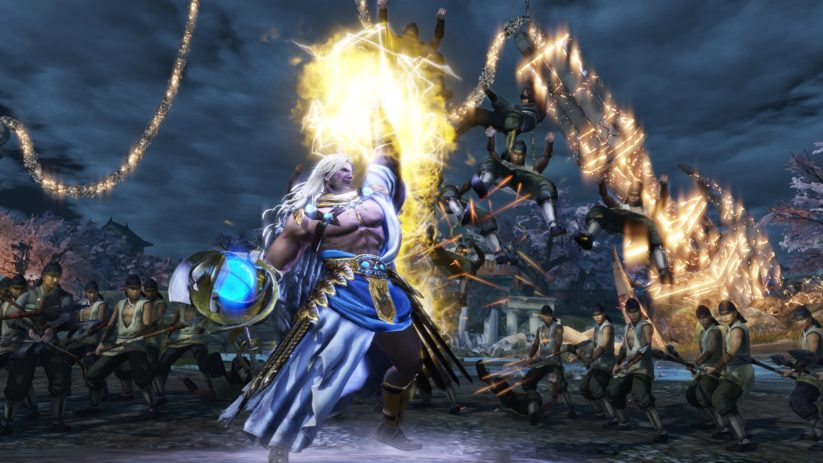 Jeu Warriors Orochi 4 sur Nintendo Switch : Zeus entre en jeu