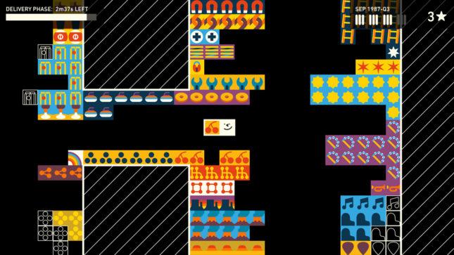 Jeu Wilmot's Warehouse sur Nintendo Switch : Classer les objets par forme