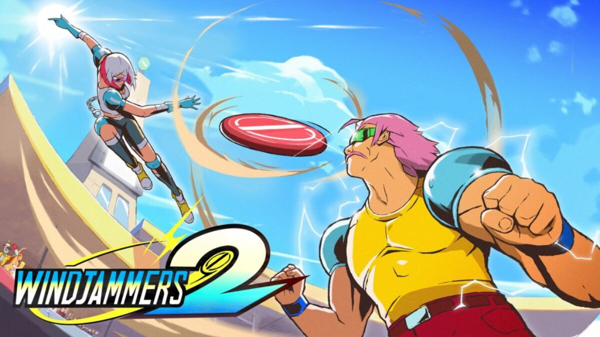Jeu Windjammers 2 sur Nintendo Switch : artwork du jeu