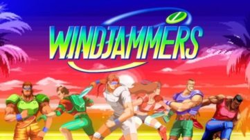 Jeu Windjammers sur Nintendo Switch : artwork du jeu
