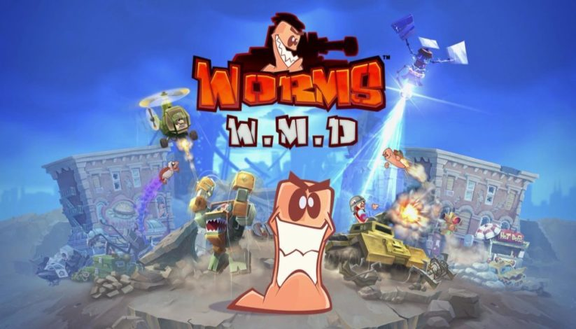 Worms WMD sur Nintendo Switch