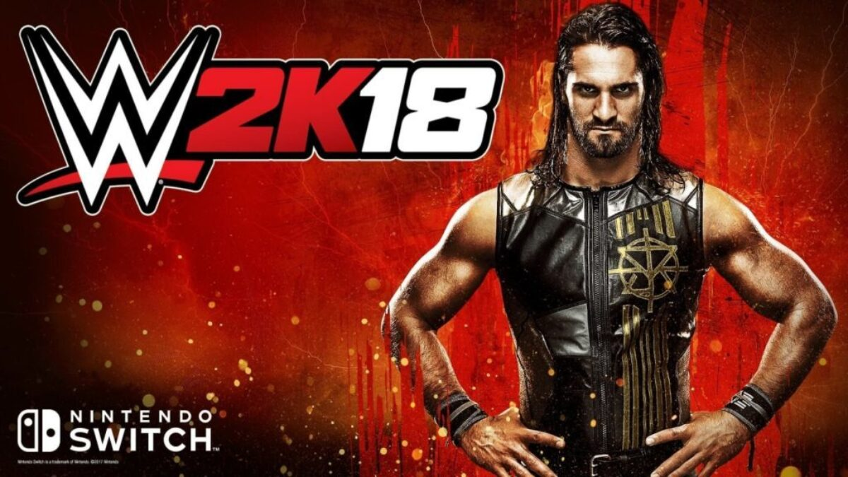 WWE 2K18 : jaquette du jeu