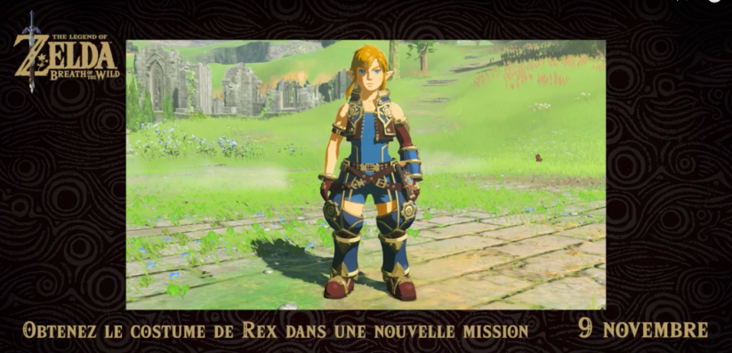 Xenoblade Chronicles 2 cross over avec Zelda Breath of the Wild