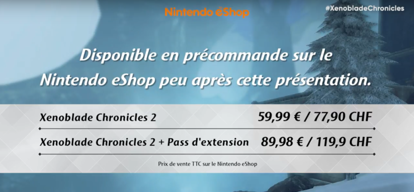 Xenoblade Chronicles 2 eShop
