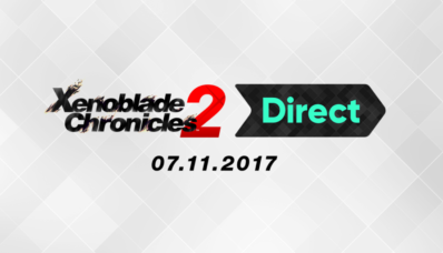 Image d'annonce du Nintendo Direct consacré à Xenoblade Chronicles 2 sur Nintendo Switch