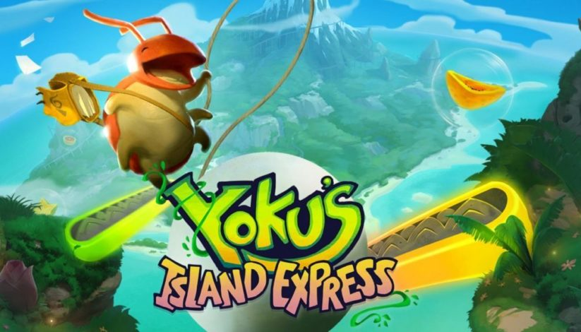 Jeu Yoku's Island Express sur Nintendo Switch : artwork