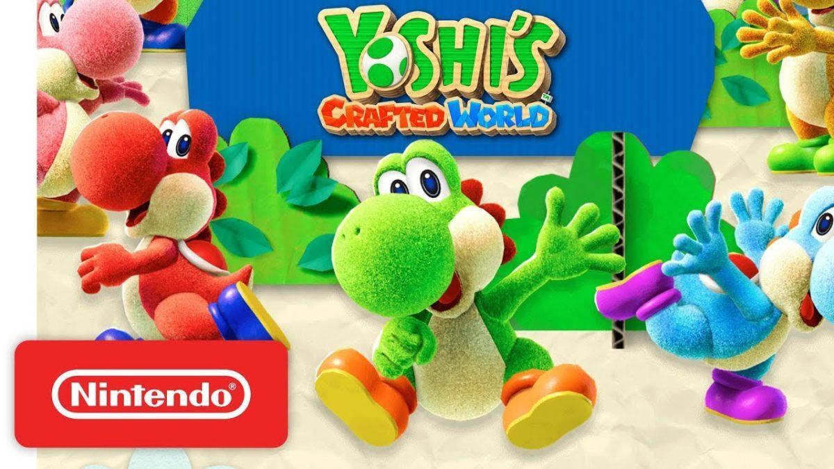 Yoshi's Crafted World se dote d'un nouveau trailer pour son lancement