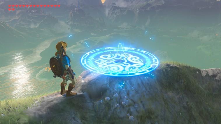 Amulette de téléportation du DLC The Master Trials (Zelda Breath of the Wild)