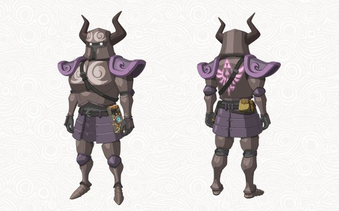 Tenue Phantom Armor du DLC The Master Trials (Zelda Breath of the Wild)