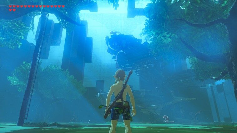 "Épreuves d'épée ""Trial of the Sword"" du DLC The Master Trials (Zelda Breath of the Wild)"