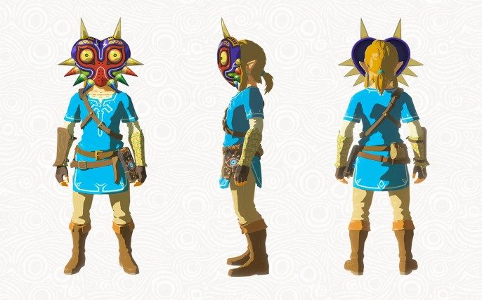 Masque Majora du DLC The Master Trials (Zelda Breath of the Wild)