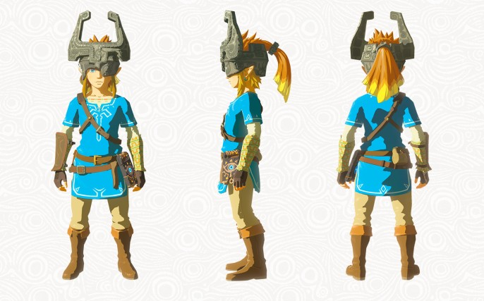 Masque Midona du DLC The Master Trials (Zelda Breath of the Wild)