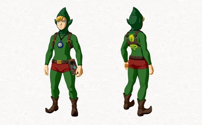 Tenue Tingle du DLC The Master Trials (Zelda Breath of the Wild)