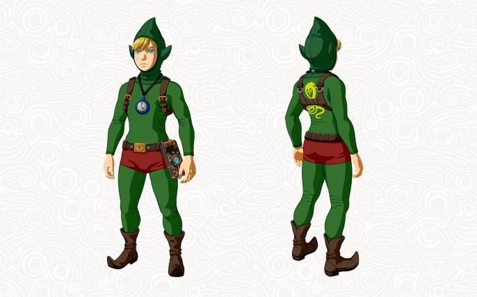 Tenue Tingle du DLC The Master Trials (Zelda Breath of the Wild)