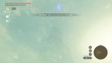 Zelda Breath of the Wild : un glitch peut vous faire perdre la Master Sword