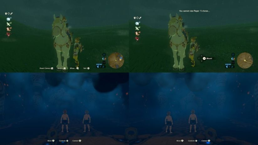 Aperçu du multijoueur de Zelda Breath of the Wild