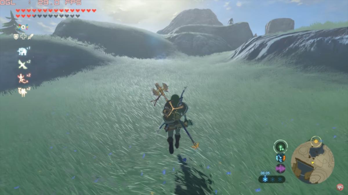 Zelda Breath of the Wild : émulation CEMU 1.7.4