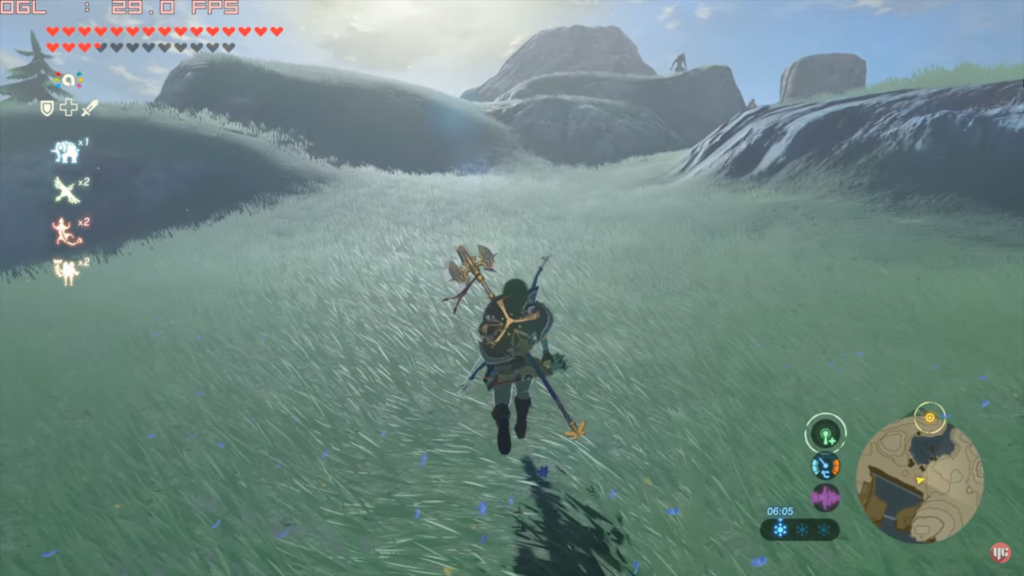Zelda Breath of the Wild : émulation CEMU 1.7.4